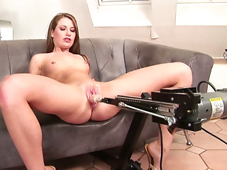 Mechanical fucking for the most insatiable holes in the world: fucking machine videos and movies.