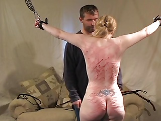 Beautiful babes and horny guys getting punished by getting slapped, whipped and spanked on cam.