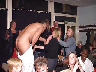 Clothed girls fucking or humiliating naked dudes, CFNM pornography collection accessible for free.