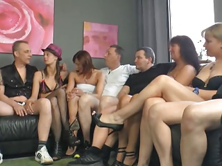 Swinger couples cheating on each other next to each other, enjoy swinger orgy dirty flicks and more.