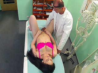 Big-dicked doctors and naughty nurses, MDs giving their patients some unconventional sex treatment.