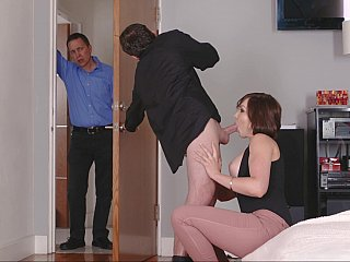 Step-mother sex videos featuring stepmoms banging their sons, MILF family sex recorded in HQ.